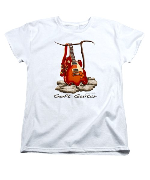 Soft Guitar - 3 Women's T-Shirt (Standard Cut) by Mike McGlothlen