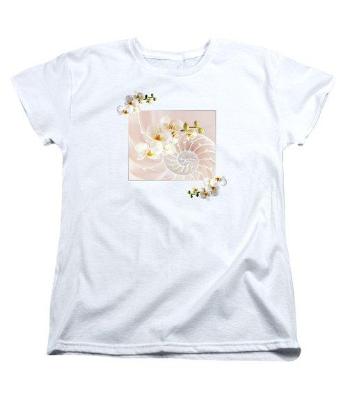 Soft Pink Fusion Women's T-Shirt (Standard Cut)