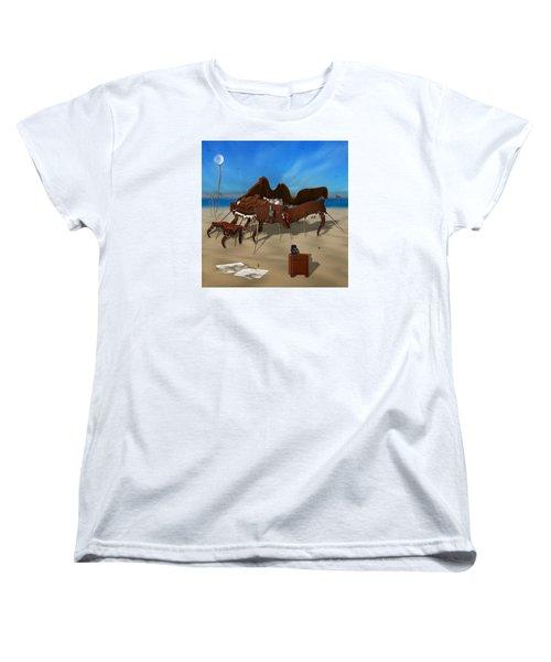 Softe Grand Piano Se Sq Women's T-Shirt (Standard Cut)