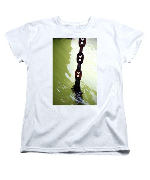 Solid Women's T-Shirt (Standard Cut) by Newel Hunter