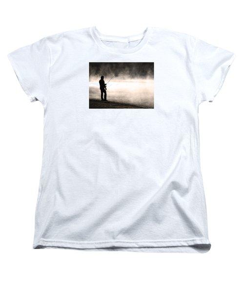 Solitude Women's T-Shirt (Standard Cut) by Stephen Flint