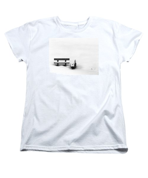 Women's T-Shirt (Standard Cut) featuring the photograph Someone To Hear You When You Sigh by Dana DiPasquale