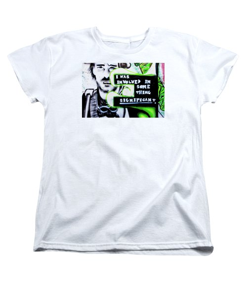 Women's T-Shirt (Standard Cut) featuring the photograph Something Significant by Art Block Collections