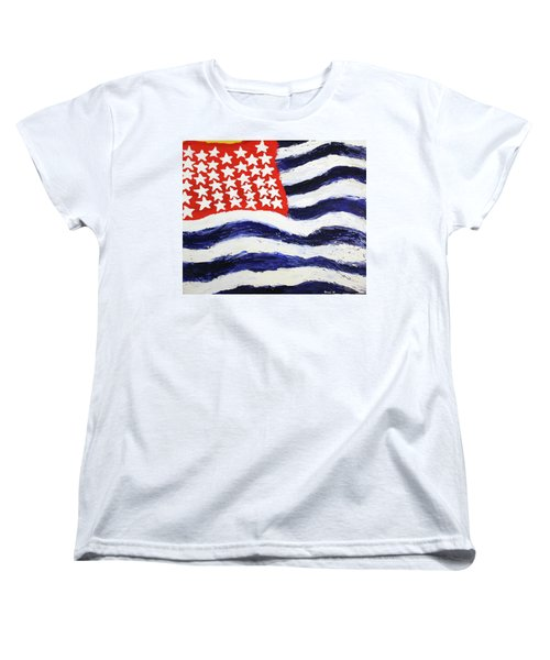 Something's Wrong With America Women's T-Shirt (Standard Cut)