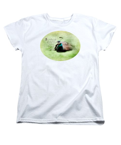 Sophisticated - Verse Women's T-Shirt (Standard Cut) by Anita Faye