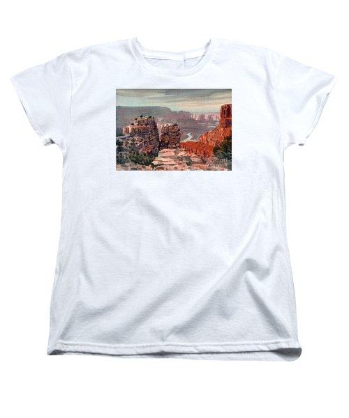South Rim Women's T-Shirt (Standard Cut) by Donald Maier