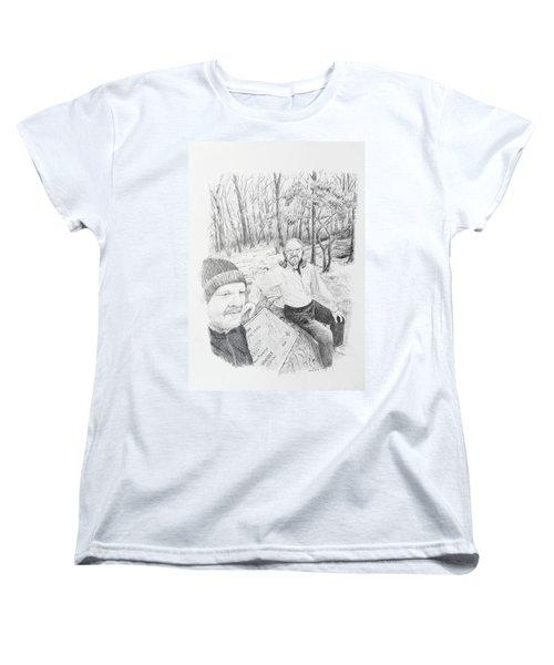 Southern Terminus  Women's T-Shirt (Standard Cut) by Daniel Reed