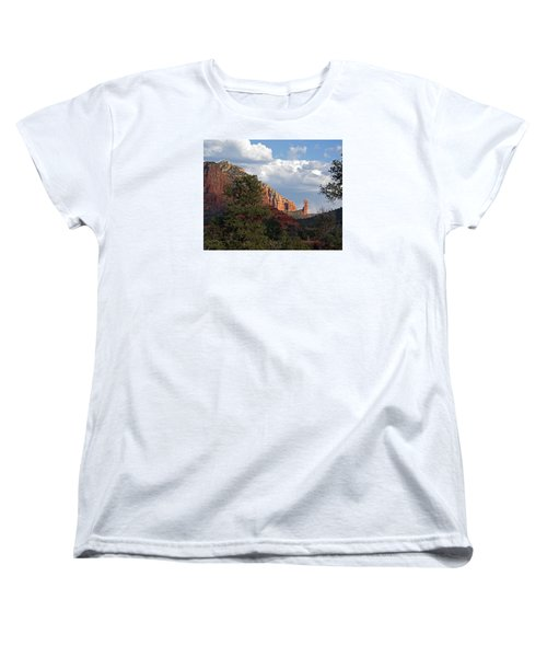 Women's T-Shirt (Standard Cut) featuring the photograph Spectacle by Lynda Lehmann
