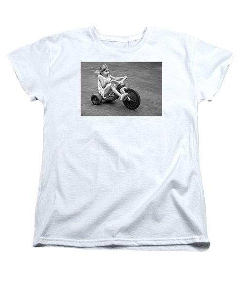 Speed Women's T-Shirt (Standard Cut) by Alex Galkin
