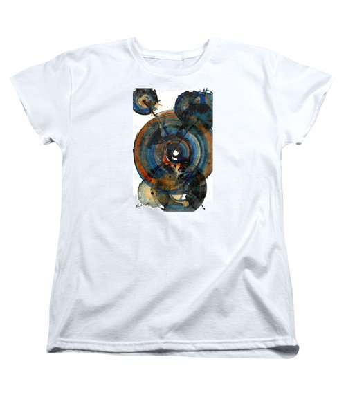 Women's T-Shirt (Standard Cut) featuring the painting Spherical Joy Series 03.030211 by Kris Haas