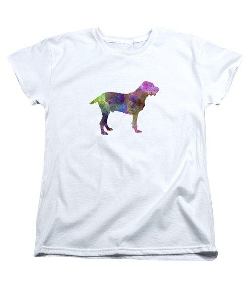 Spinone In Watercolor Women's T-Shirt (Standard Cut) by Pablo Romero