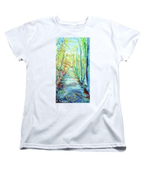 Spirale - Spiral Women's T-Shirt (Standard Cut) by Koro Arandia