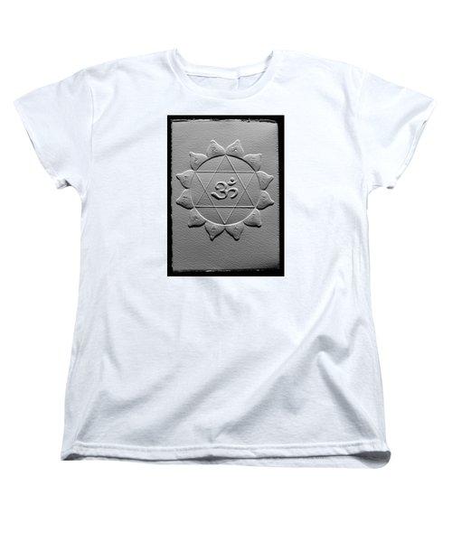 Spiritual Om Yantra Women's T-Shirt (Standard Cut) by Suhas Tavkar