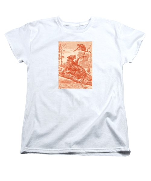 Spotted Women's T-Shirt (Standard Cut) by David Davies