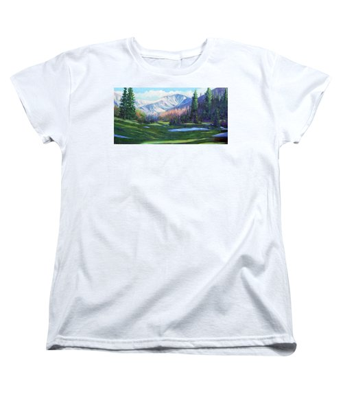 Spring Colors In The Rockies Women's T-Shirt (Standard Cut) by Billie Colson