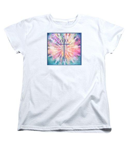 Women's T-Shirt (Standard Cut) featuring the photograph Spring Cross by Geraldine DeBoer