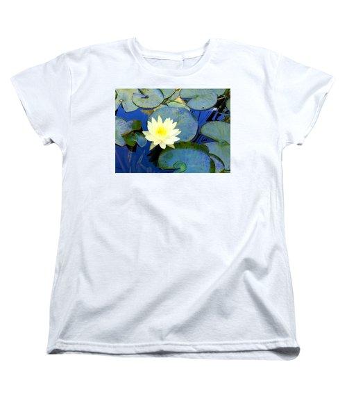 Spring Lily Women's T-Shirt (Standard Cut) by Angela Annas