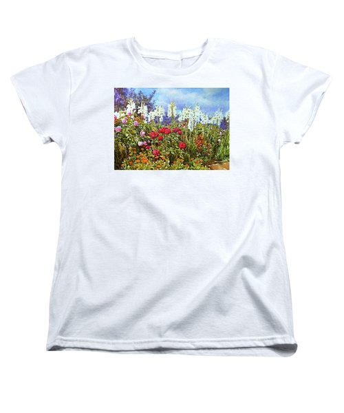 Women's T-Shirt (Standard Cut) featuring the photograph Spring by Munir Alawi