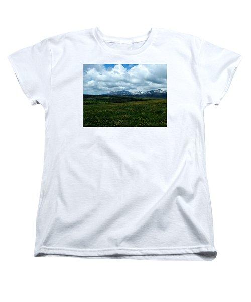 Springtime In The Rockies Women's T-Shirt (Standard Cut)