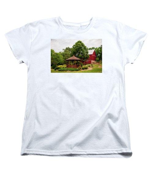 Women's T-Shirt (Standard Cut) featuring the photograph Springwater Park by Trey Foerster