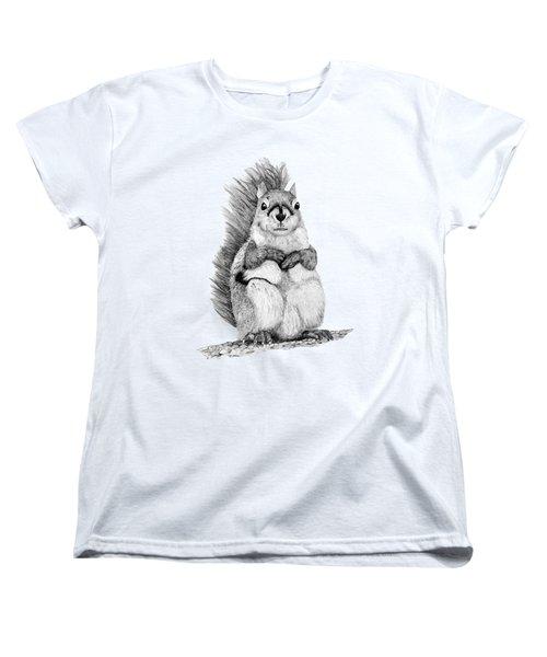 Squirrel Women's T-Shirt (Standard Cut) by John Stuart Webbstock