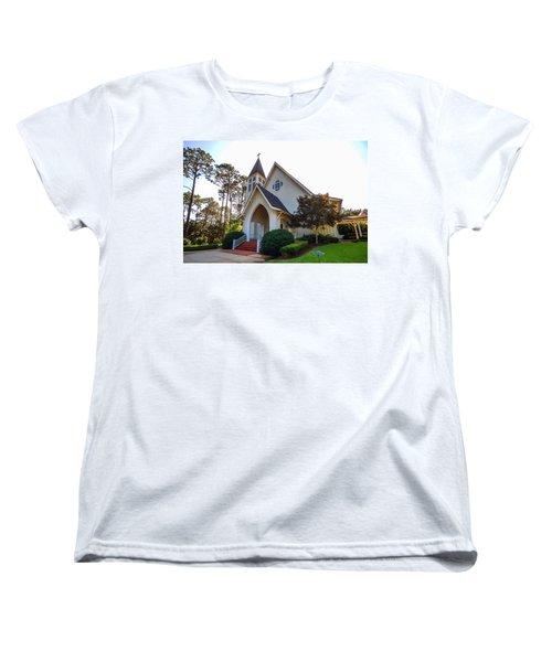 Women's T-Shirt (Standard Cut) featuring the photograph St. James V2 Fairhope Al by Michael Thomas