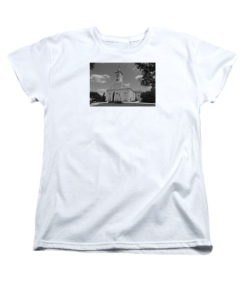 St. Martinville Church Women's T-Shirt (Standard Cut) by Ronald Olivier