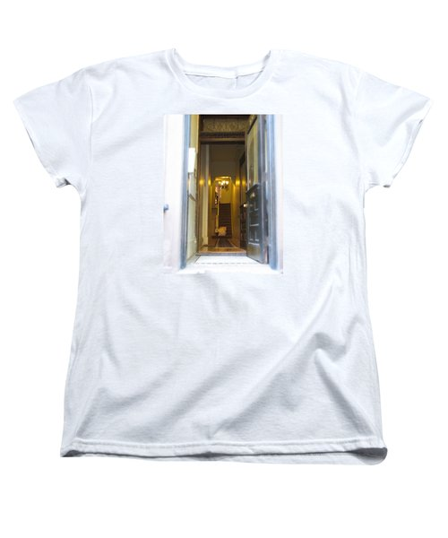 Stairs Women's T-Shirt (Standard Cut) by Christopher Woods