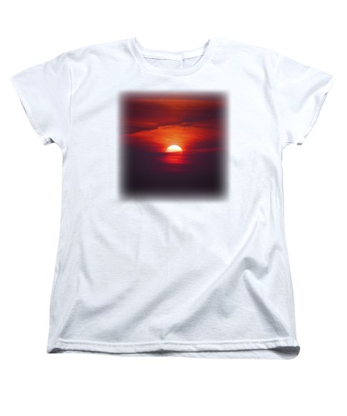 Stairway To Heaven On Transparent Background Women's T-Shirt (Standard Cut) by Terri Waters