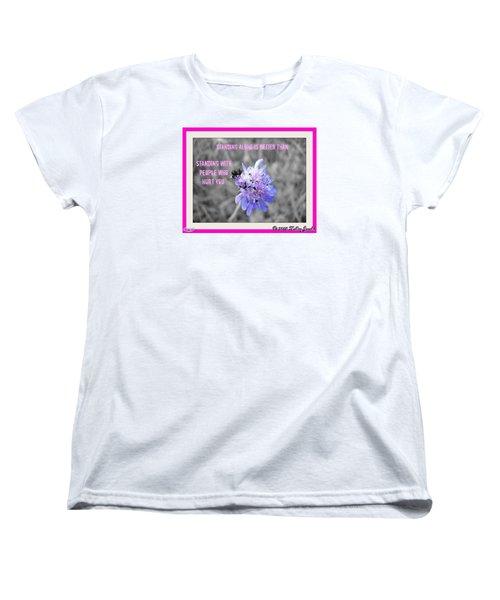 Standing Alone Women's T-Shirt (Standard Cut)