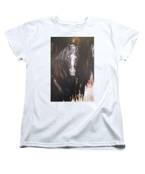 Standing Firm Women's T-Shirt (Standard Cut) by Heather Roddy