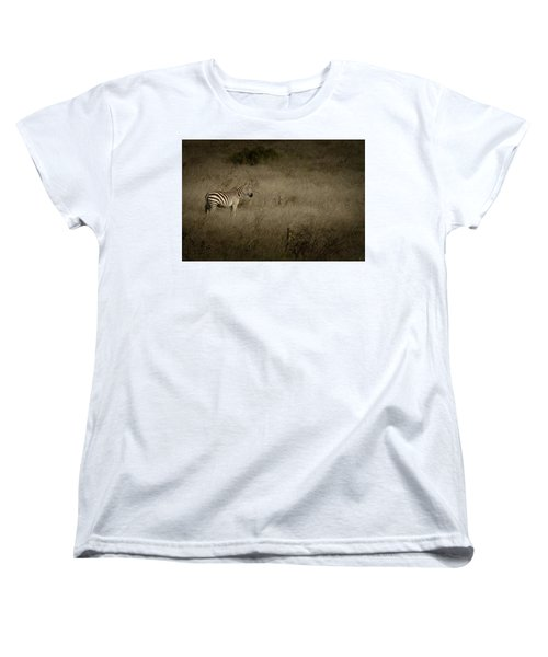 Women's T-Shirt (Standard Cut) featuring the photograph Standing In The Light by Roger Mullenhour