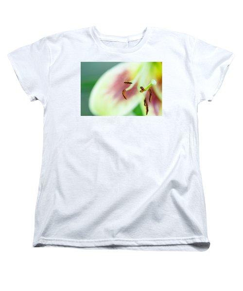 Stargazer Lily Women's T-Shirt (Standard Cut) by Marlo Horne