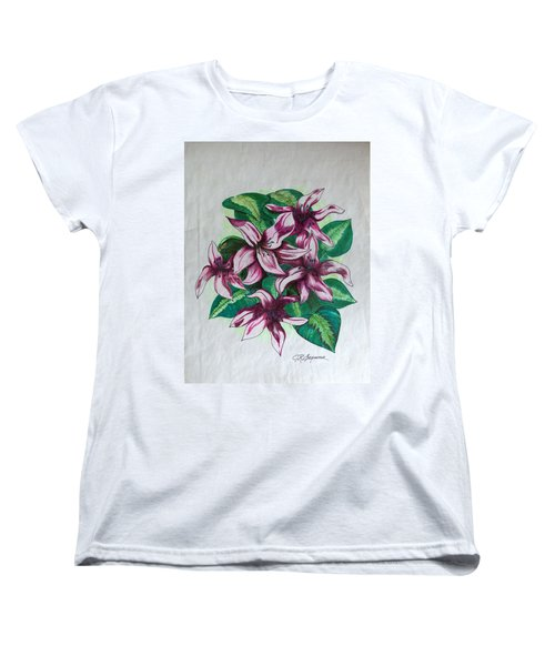 Stargazers Blooming Women's T-Shirt (Standard Cut) by J R Seymour