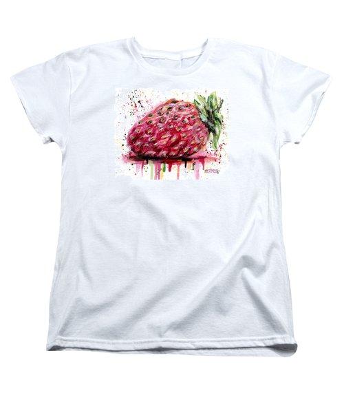 Stawberry 1 Women's T-Shirt (Standard Cut)
