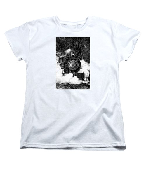 Steam Engine Jan 2016 In Hdr Women's T-Shirt (Standard Cut) by Michael White