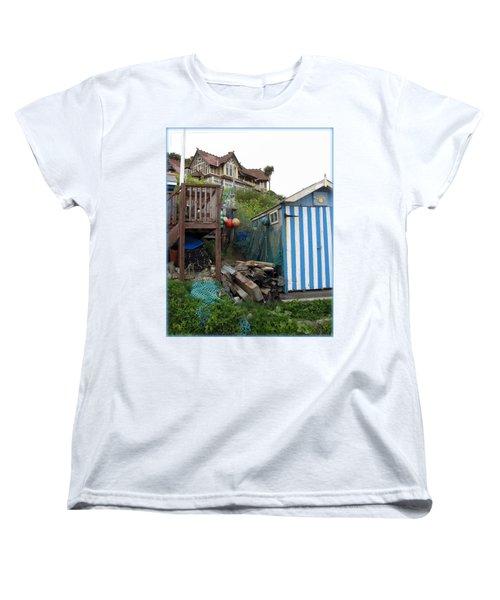 Steephill Cove Women's T-Shirt (Standard Cut) by Carla Parris