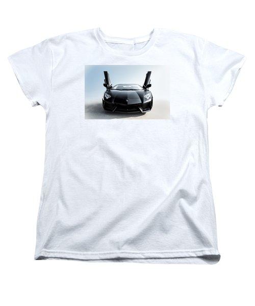 Women's T-Shirt (Standard Cut) featuring the photograph Stick 'em Up by Douglas Pittman