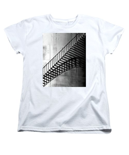 Storage Stairway Women's T-Shirt (Standard Cut) by Christopher McKenzie