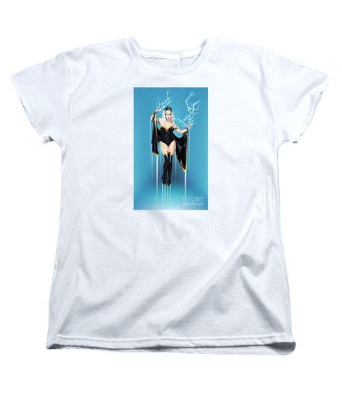 Storm Women's T-Shirt (Standard Cut) by Brian Gibbs