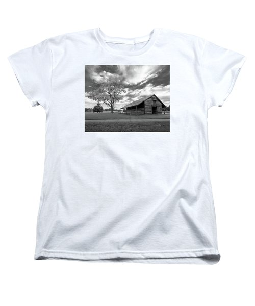 Women's T-Shirt (Standard Cut) featuring the photograph Stormy Weather by George Randy Bass