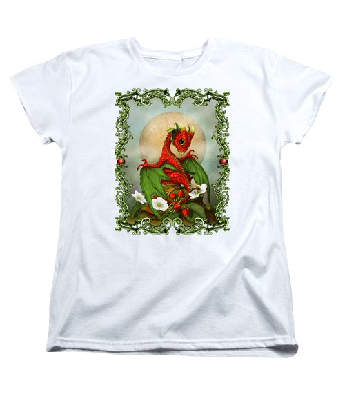 Strawberry Dragon T-shirt Women's T-Shirt (Standard Cut)