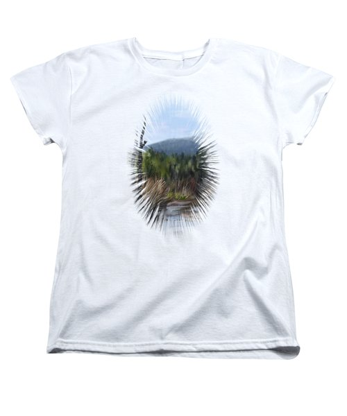 Stream Women's T-Shirt (Standard Cut) by Ivana Westin