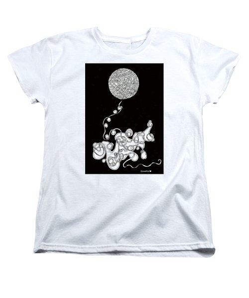 String Energy 1 Women's T-Shirt (Standard Cut) by Quwatha Valentine
