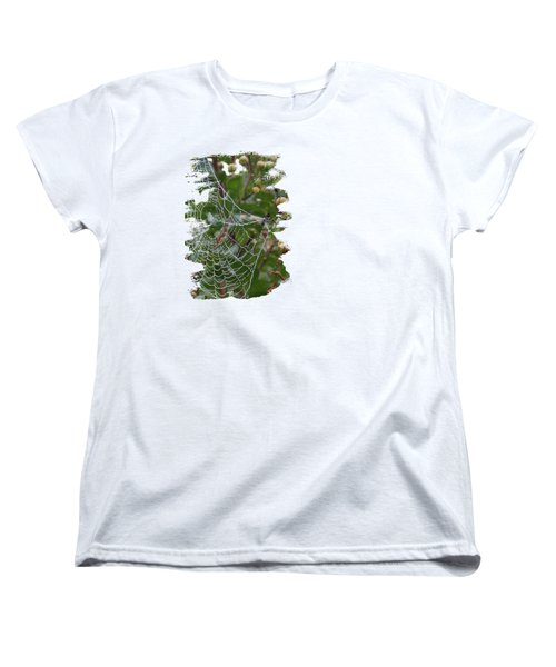 String Of Pearls Women's T-Shirt (Standard Cut) by Anita Faye