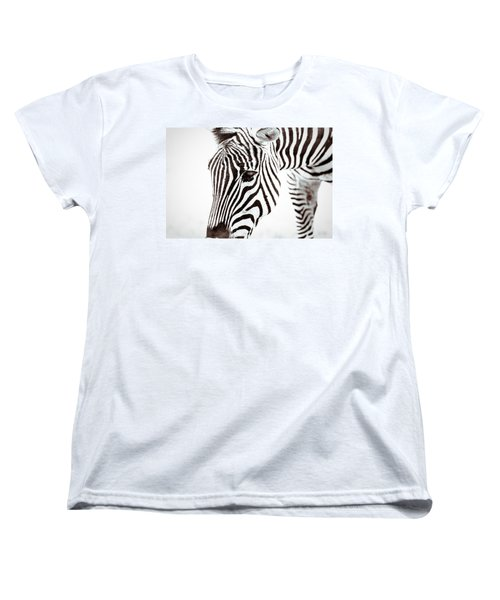 Women's T-Shirt (Standard Cut) featuring the photograph Striped by Wade Brooks
