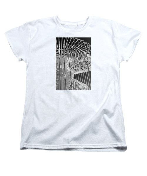 Structure Abstract 4 Women's T-Shirt (Standard Cut) by Cheryl Del Toro