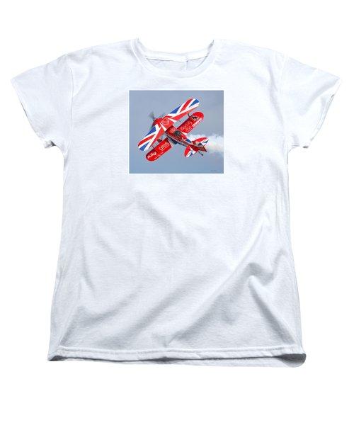 Stunt Plane Women's T-Shirt (Standard Cut) by Roy  McPeak