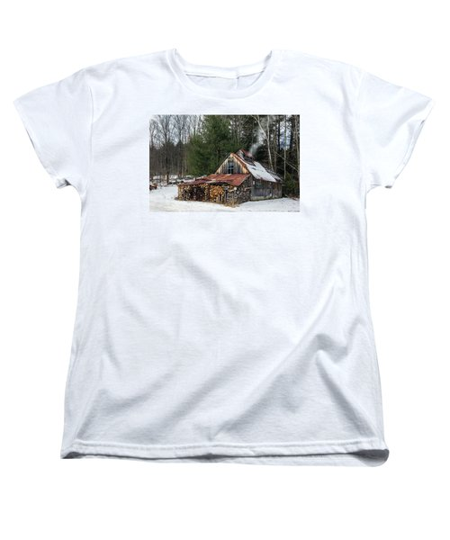 Sugar King's Smokehouse Women's T-Shirt (Standard Cut) by Betty Denise