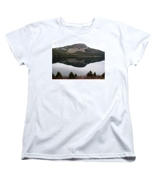 Sugarloaf Hill Reflections Women's T-Shirt (Standard Cut) by Barbara Griffin
